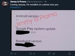 三星 Galaxy S21 系列将预装 One UI 3.1