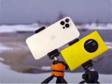 蘋果 iPhone 12 Pro Max、諾基亞 Lumia 1020 相機拍攝對決