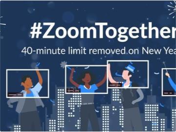 Zoom 獻上圣誕節大禮:取消免費用戶 40 分鐘時長限制