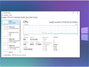 微軟 Win10 更新導致 CPU 使用率過高