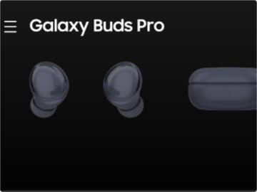 三星 Galaxy Buds Pro 曝光:支持 3D 音頻、頭部跟蹤、對話檢測、聽力調節等