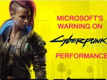 微軟商店《賽博朋克 2077 》頁面添加性能警告:Xbox One 可能遇到問題