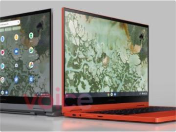 三星 Galaxy Chromebook 2 渲染圖泄露:時尚紅色,USB-C 供電