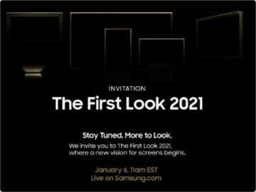 三星 The First Look 2021 活動將于 1 月 7 日舉行