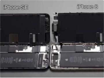 蘋果iPhone SE 2拆解:屏幕等大部分元件和iPhone 8通用