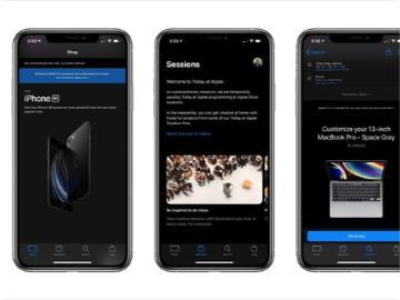 蘋果 Apple Store App 新增支持 iOS 13 暗黑模式