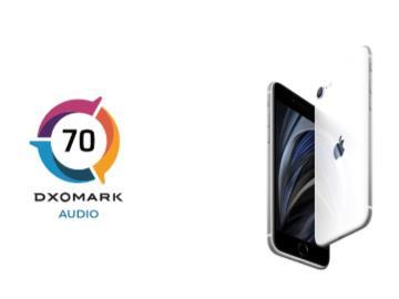 DXOMARK:蘋果iPhone SE 2020音頻得分70分