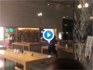 Apple Store 被砸、iPhone、Mac 被搶:庫克要捐款,谷歌微軟也發聲