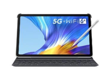 榮耀平板V6鈦空銀5G版預售:麒麟985+2K全面屏,3199元