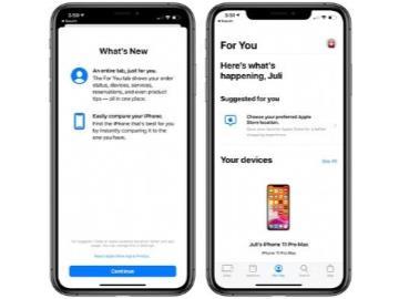 "Apple Store App新增""For you""標簽:提供iPhone比較功能"
