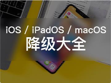 【IT之家學院】保留所有設備數據,iOS/iPadOS/macOS降級完全指南2020年中