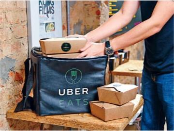 国外疫情使外卖需求量激增,Uber外卖收入首超打车