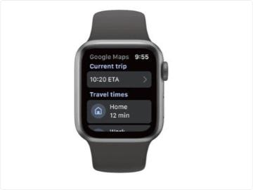 時隔三年后,谷歌地圖重新登陸蘋果Apple Watch