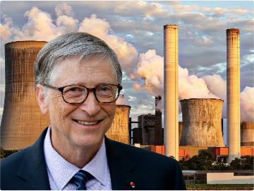 比尔·盖茨计划建造数百座小型核电站