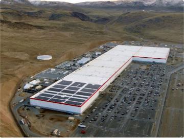 松下为特斯拉超级工厂增加第 14 条生产线:电芯产能提升 10%