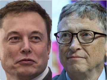 """马斯克:比尔·盖茨对电动卡车""""一窍不通"""""""