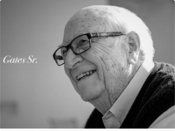 """老威廉·亨利·盖茨去世,比尔·盖茨悼念父亲:""""他就是我想成为的一切。"""""""