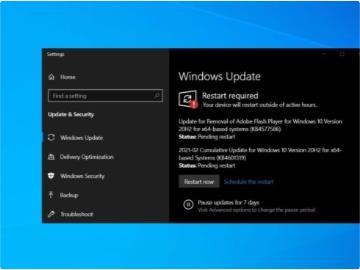 微軟 Win10 更新 KB4577586 發布:永久刪除 Adobe Flash Player,補丁無法卸載