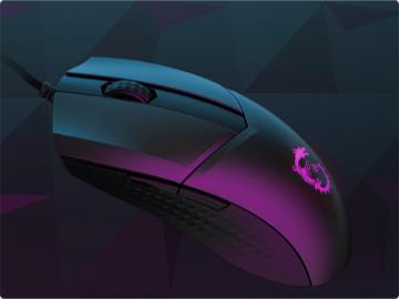 微星推出轻量级电竞鼠标:仅 65g,兼容英伟达 Reflex