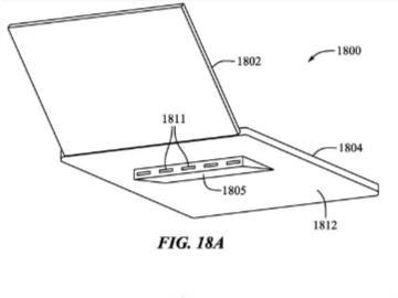 """蘋果新專利曝光:MacBook Pro 自帶 """"腿"""",打字姿勢更舒服"""