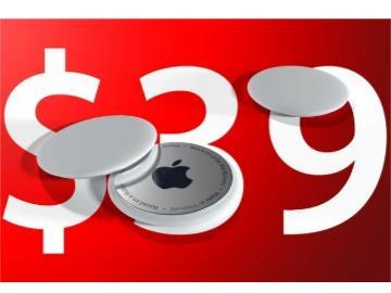 消息稱蘋果 AirTags 售價 39 美元,直徑 32 毫米