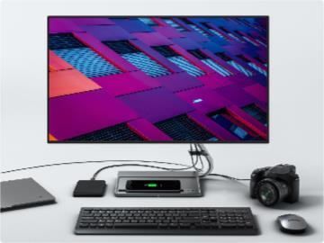 聯想即將發布 Qreator27 4K 顯示器:四邊窄邊框,底座支持無線充電