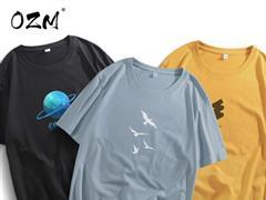 夏日每天換 1 件:OZM 純棉 T 恤 14.9 元(5 折)