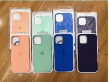 苹果 iPhone 12 系列春季配色硅胶手机壳曝光