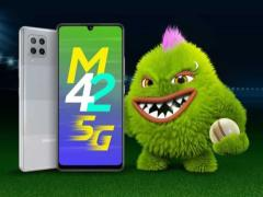 三星 Galaxy M42 5G 官宣:搭載驍龍 750G,4 月 28 日海外發布
