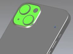 苹果 iPhone 13 CAD 图曝光:对角后置摄像头布局