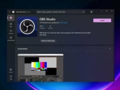 微軟激勵奏效,OBS Studio 等上架 Win11 應用商店