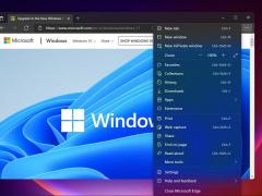 """微軟 Win11 全新 Edge 瀏覽器體驗:采用""""云母""""與""""亞克力""""材質"""