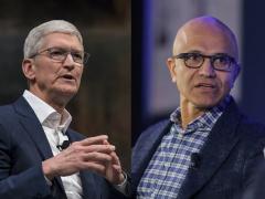 蘋果 CEO 庫克、微軟 CEO 納德拉本周將造訪白宮,討論勒索軟件等網絡安全問題