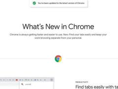 """谷歌 Chrome 瀏覽器將添加""""新增內容說明""""頁面,不再只是刷新版本號"""