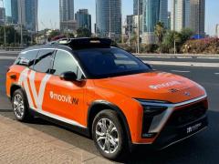 英特爾宣布明年推出自動駕駛出租車服務,量產車型為蔚來 ES8
