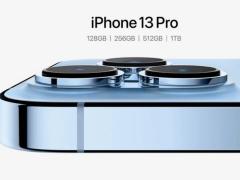 現在購買蘋果 iPhone 13 Pro/Max 全新 1TB 存儲版,已顯示最晚 10 月份發貨