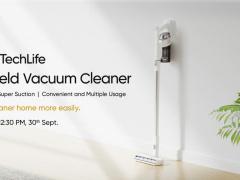 realme 將推出智能無線吸塵器/空氣凈化器,9 月 30 日海外發布