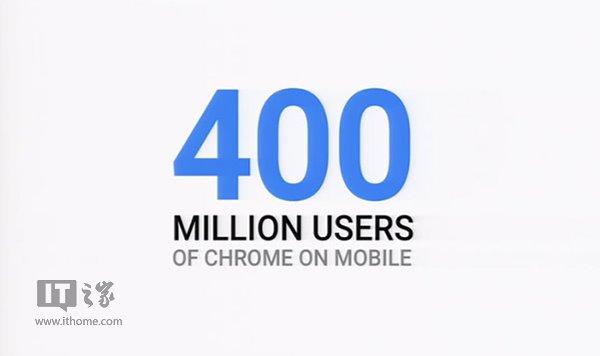竟有这么多人使用移动版谷歌浏览器