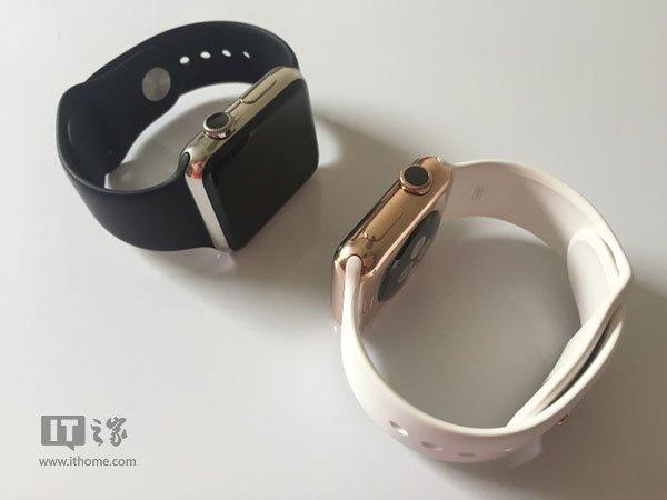 """玫瑰镀金版苹果Apple Watch:更""""实惠""""的土豪金 - Apple Watch,苹果手表,土豪金 - IT之家"""