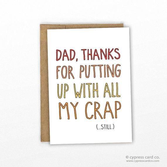 今日父亲节:24款贺卡送给24种老爸