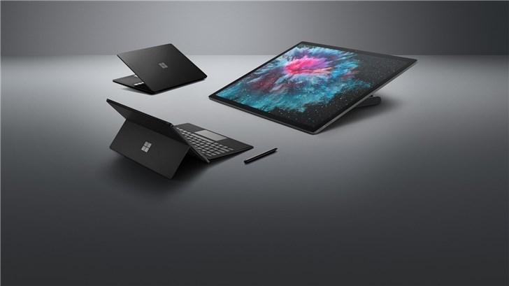 一文看懂微软Surface Pro 6/Laptop 2/Studio 2发布会:都