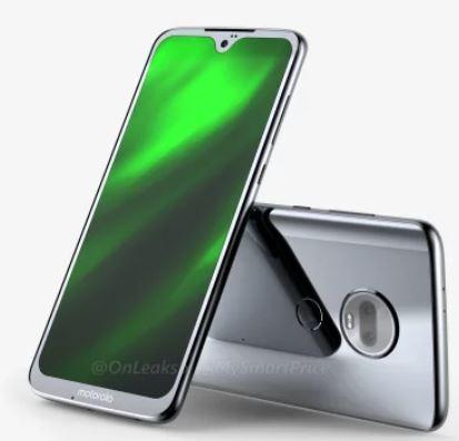 Moto G7手机360度渲染图曝光:全面屏外观独一无二
