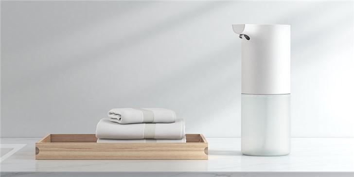 小米米家自动洗手机套装发布:众筹价69元