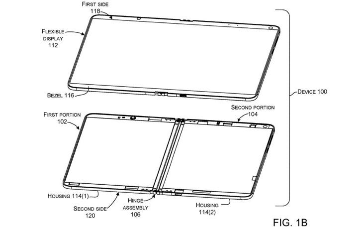 微软Surface仙女座设备再曝光:新型铰链,柔性双