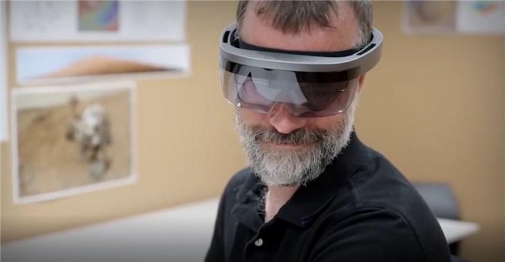 微软:NASA酷炫视频演示非HoloLens 2,而是一代原型
