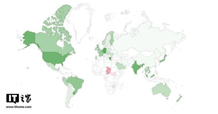 全球IPv6普及率已經突破25%,中國部署率僅為2.93%