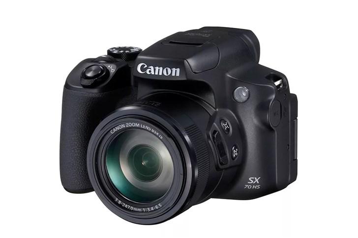 佳能推出小型数码相机PowerShot SX70 HS:拥有65倍光