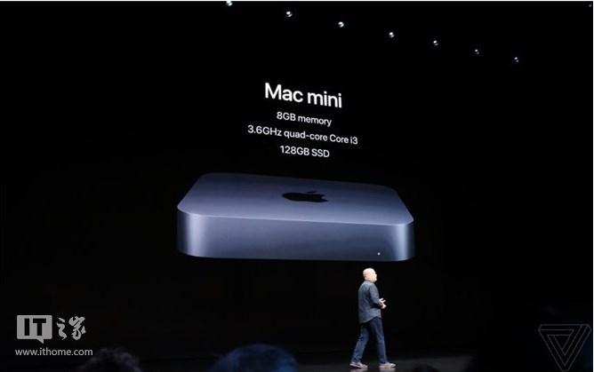 苹果新款Mac mini 正式发布:售价799美元起