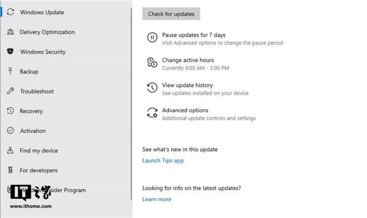 Windows 10 19H1升级理由是什么?