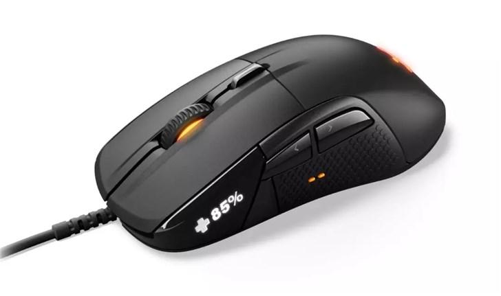 赛睿发布全新Rival 710游戏鼠标:搭载OLED屏幕,可